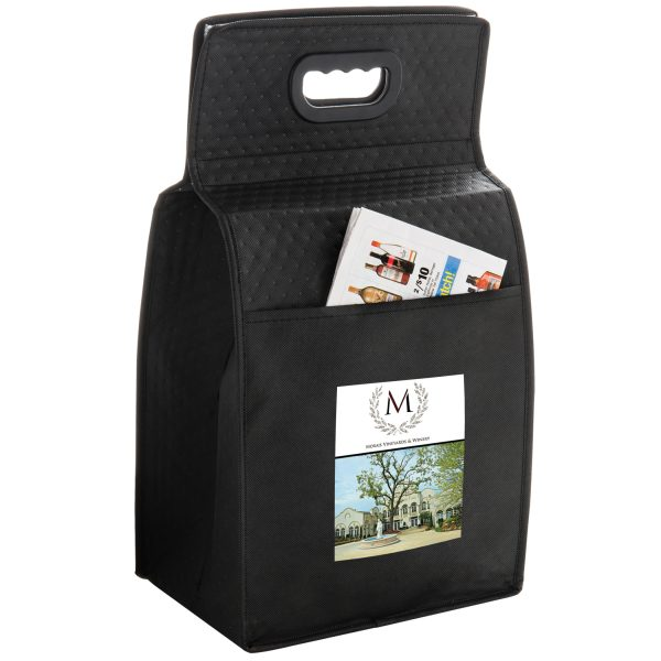 Six Bottle Insulated Wine Bag