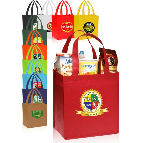 Value Non-woven Grocery Tote Bags