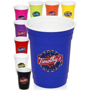 16 oz. Double Wall Plastic Party Cup