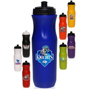 APG142 26 oz. Plastic Sports Bottles Push top