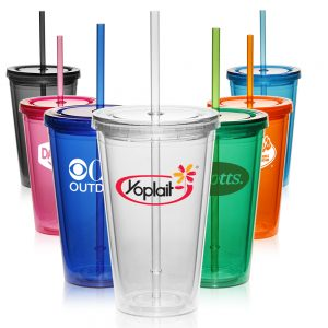 APG161 16 oz. Double Wall Acrylic Tumblers
