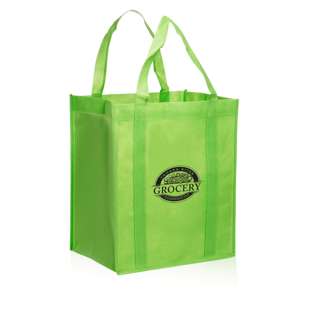 Cool Recycle Logo Reusable Grocery Tote ...