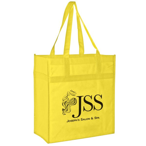 Y2KL13714 Heavy Duty Non Woven Grocery Tote Bag