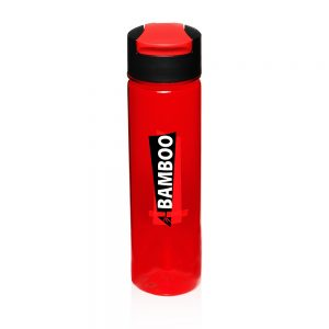 24 oz Slim Water Bottles Flip Top APG143