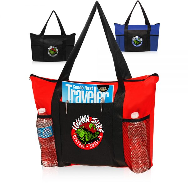Zippered Non Woven Tote Bags ATOT131