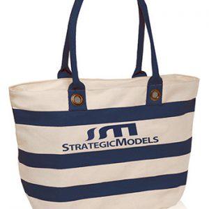 Striped Sailor Canvas Tote Bags ATOT3768