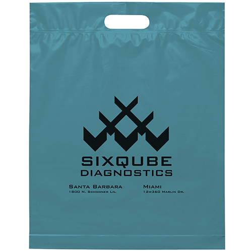 Die Cut Handle Bag 15x19x3