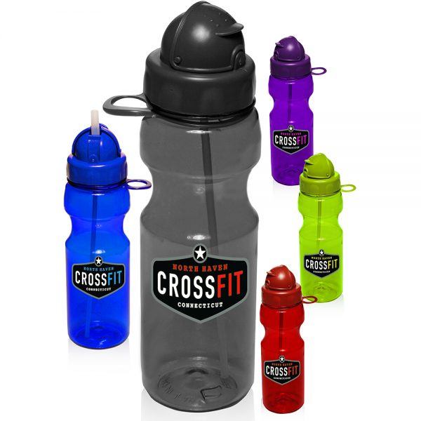 22 oz Plastic Water Bottles