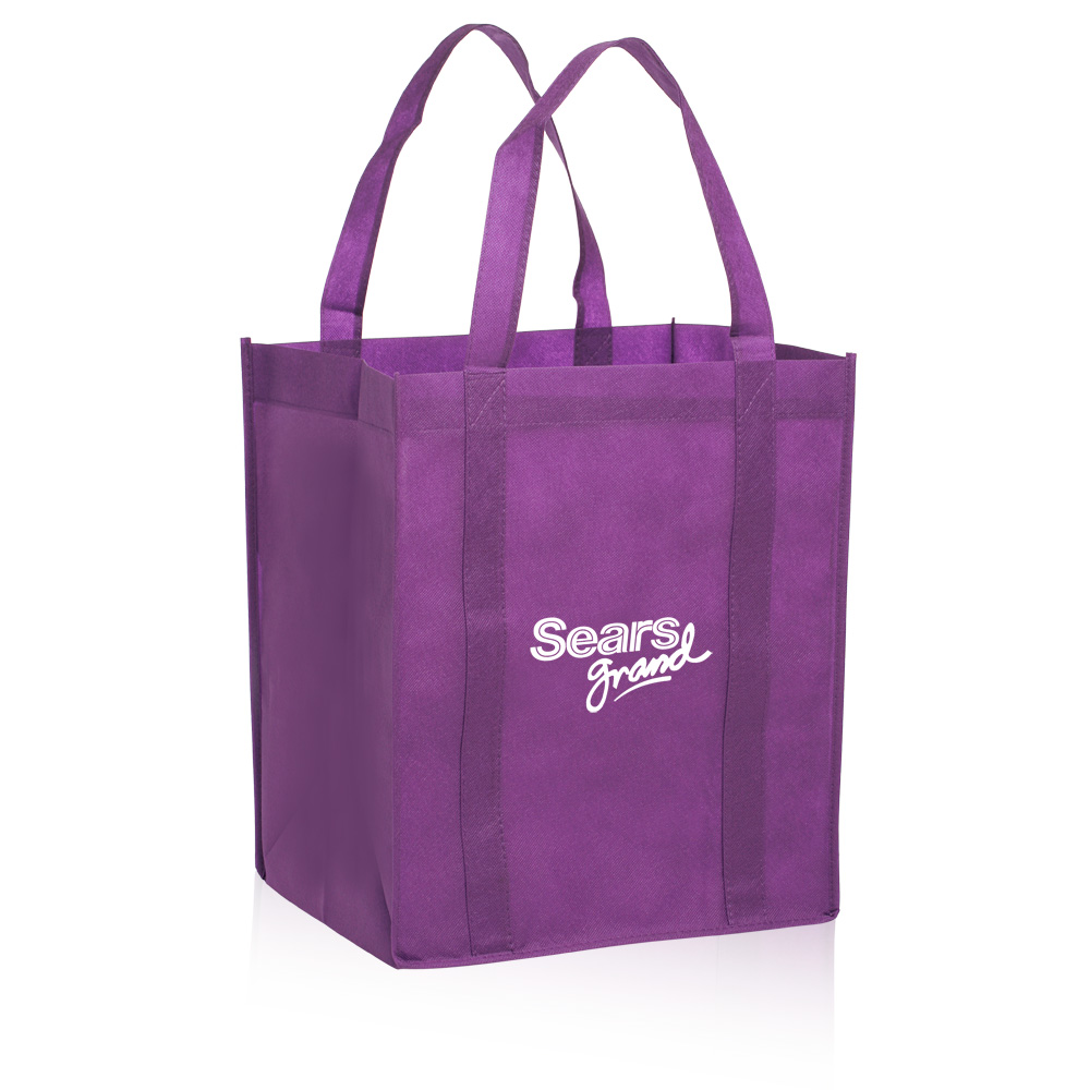 reusable grocery tote bags bag promos direct green totes