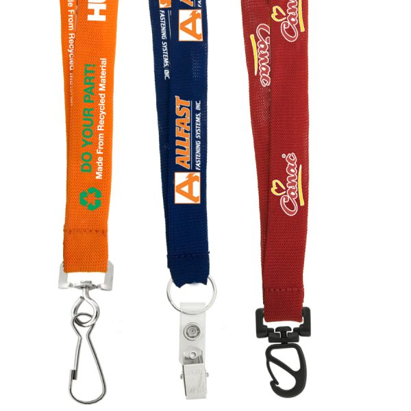 "3/4"" Recycled Euro Soft Lanyard"