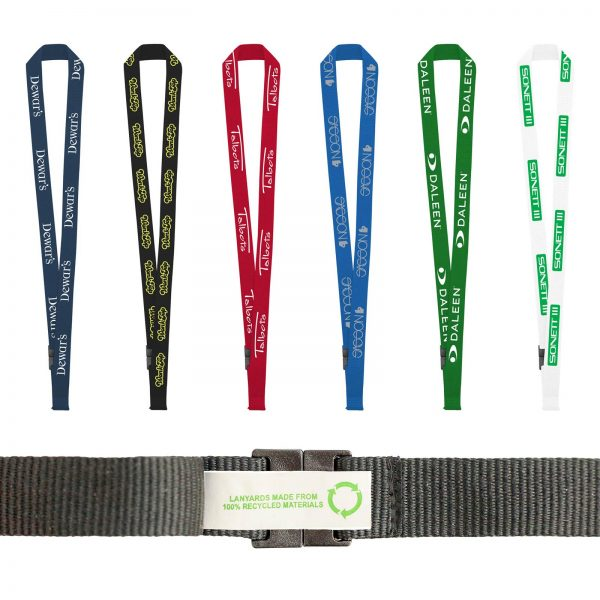 "3/4"" Recycled Fast Track Lanyard"