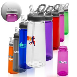 22 oz Sports Water Bottles Straw APG210