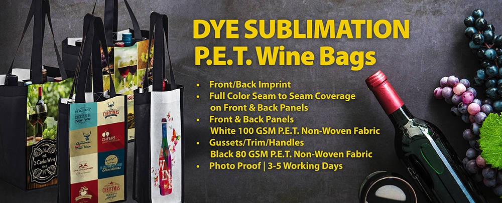 Recycled PET Wine Bags