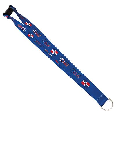 SUBLAN1-Dye Sublimation Sublimated Lanyards
