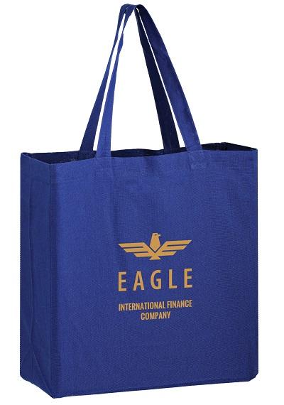 CNC13513 Color Cotton Canvas Tote Bag