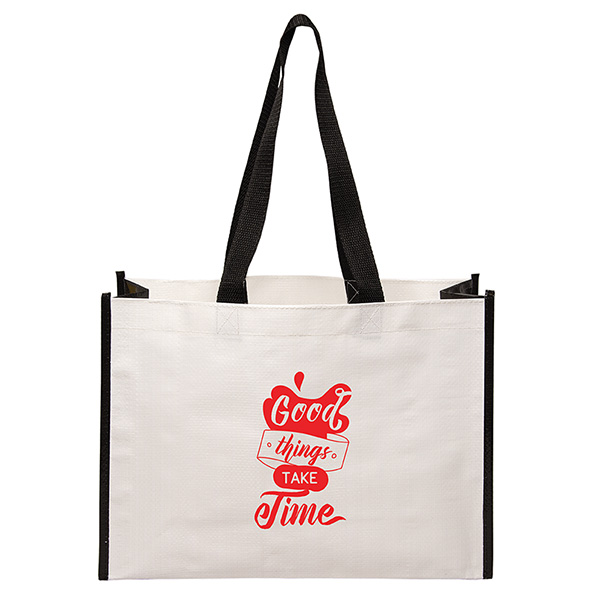 Laminated Woven Tote Bags