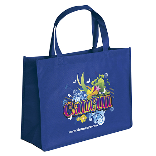 Green Grocery Shopping Tote Bags Wholesale