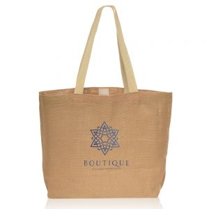 Natural Jute Fiber Carry On Tote Bags ATOT3753