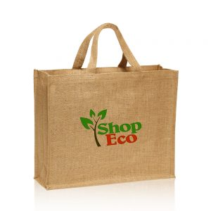 Large Jute Tote Bag ATOT44