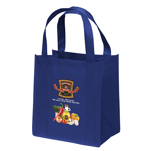 Custom Non Woven Reusable Bags Imprinted Bulk