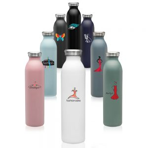 20 oz Posh Stainless Steel Water Bottles ASB271