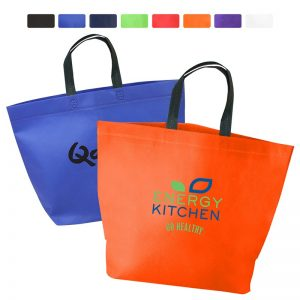 Two Tone Heat Sealed Non Woven Tote BG208