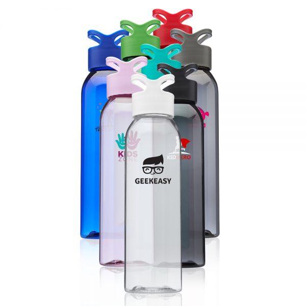 22 oz Trainer Plastic Water Bottles APG247