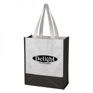 3748 Crosshatch Mini Non-Woven Tote Bag