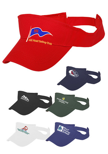 Solid Color cotton Visors ACAP48