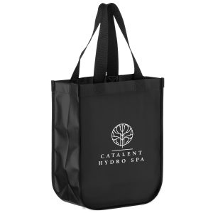 LL9411-Screen Print Matte Laminated Designer Tote Bag